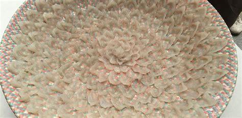 pesce palla cucina il sashimi di pesce palla al padiglione giapponese il post