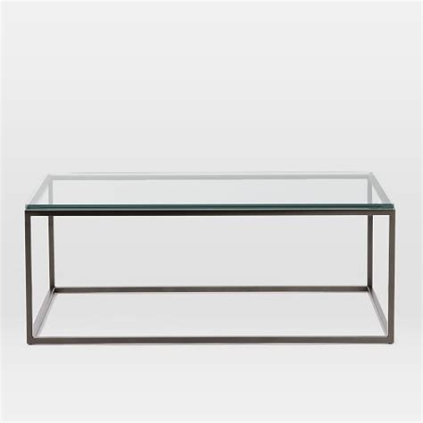West Elm Glass Coffee Table Box Frame Coffee Table Glass West Elm Collaboration Corner Pinterest Living Rooms