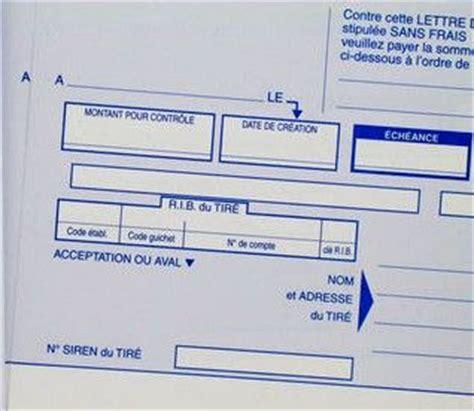 Présentation Lettre De Change La Lettre De Change Pr 233 Sentation Et Fonctionnement