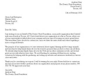 how to write a formal letter request