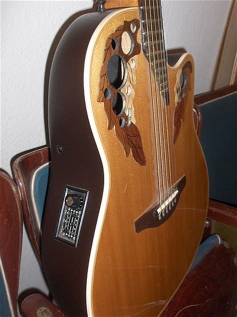 ovation elite 1768 acoustic electric guitar ovation elite 1768 image 52009 audiofanzine