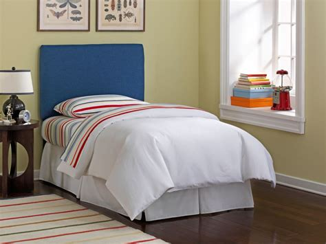 twin upholstered headboard kids skyline furniture upholstered kids twin headboard in denim