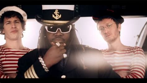 t pain on a boat saturday night live