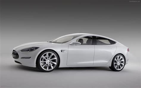 tesla model s concept 2010 tesla model s concept widescreen car picture