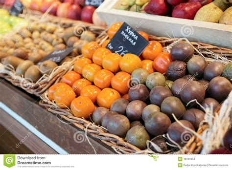 Shelf Of Fruit by Shelf With Fruits Stock Images Image 19131654