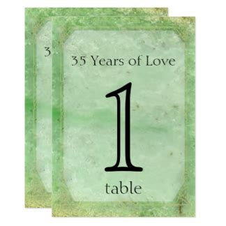 35th Wedding Anniversary Gifts Jade by Jade Anniversary Gifts On Zazzle