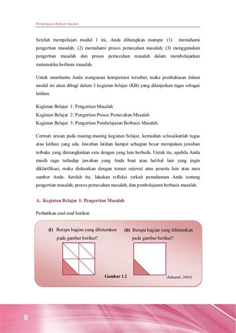 18 Strategi Pemecahan Masalah Matematika Sd pembelajaran berbasis masalah matematika di sd
