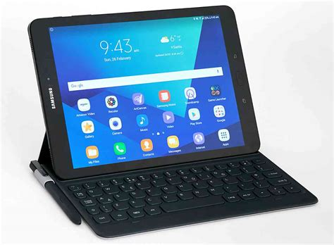Samsung Tab S3 samsung galaxy tab s3 official includes four speakers and an s pen phonedog
