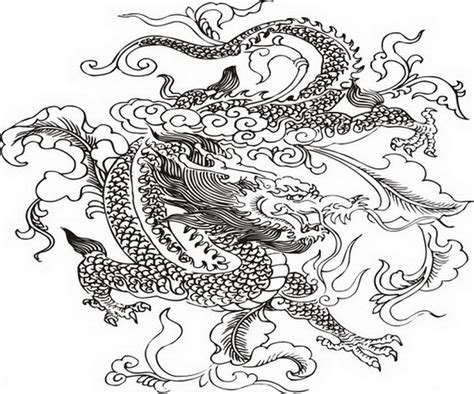 coloring page chinese dragon coloring pages chinese dragon 4920 bestofcoloring com