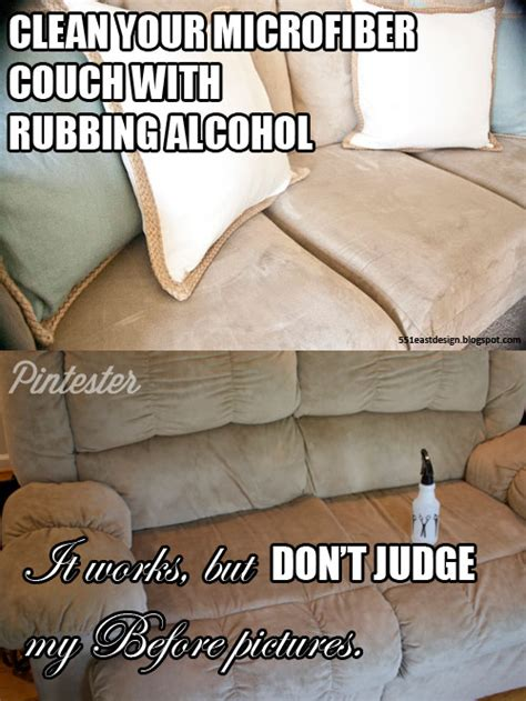 rubbing alcohol microfiber couch microfiber couch cleaning with rubbing alcohol pintester