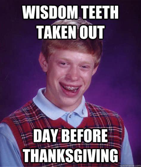 Bad Teeth Meme - trending bad luck brian meme