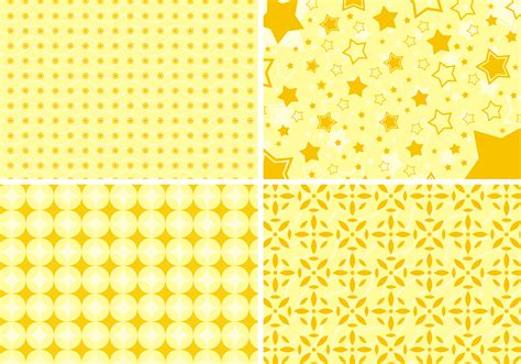 background pattern yellow vector yellow shapes background free vector download free
