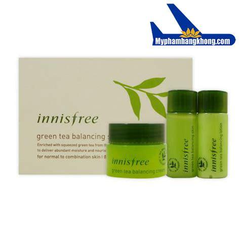 Inisfree Green Tea Special Kit bộ k 237 t tr 224 xanh innisfree green tea balancing special kit