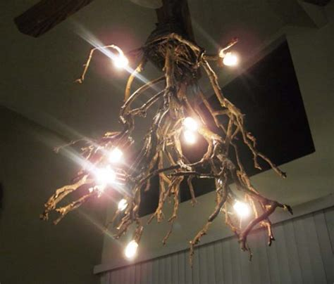 Twig Chandelier Diy 28 Dreamy Diy Lighting Projects You Ll Adore Page 6 Of 6