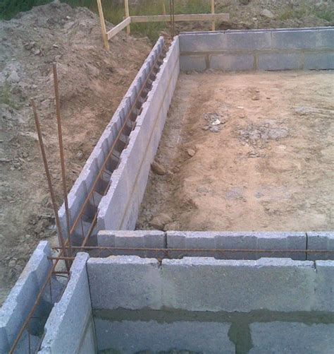 fondation dalle beton construction c r e ma 231 onneries