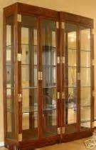 Curio Cabinets Huntsville Al Cost To Ship Henredon Curio Cabinet Showcase From