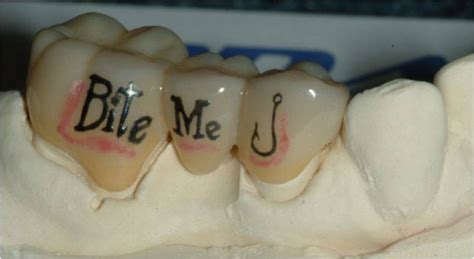 tattoo teeth