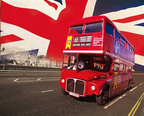 London Wall Mural 1wall fototapete riesen wandbild london bus www 4 haen de