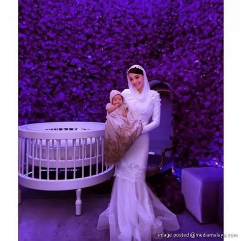 Baju Anak Stelan Lovely Moschino majlis akikah anak marion caunter 6 gambar baju melayu and