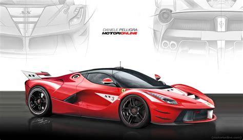 Ferrari Laferrari Xx by Ferrari S New Laferrari Xx Track Monster Visualized