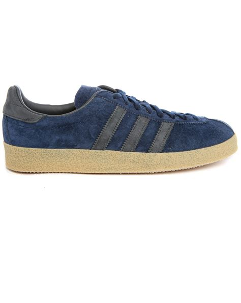 adidas suede sneakers adidas originals topanga navy suede sneakers in blue for