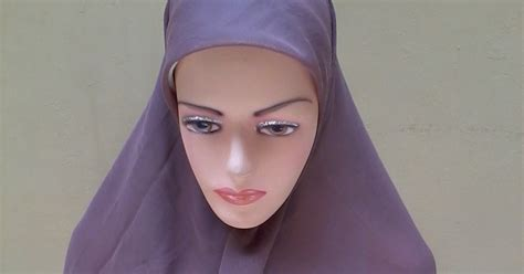 Kain Putih Spun Katun Arab jilbab polos toko jilbab grosir jilbab murah