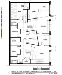 Veterinary Clinic Floor Plans veterinary specialists asheville clinic floor plan large photo