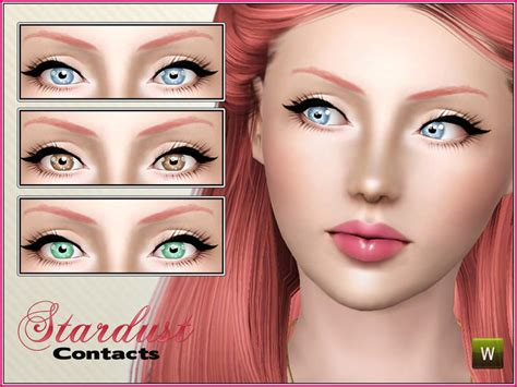 sims 4 cc sclera contact cherryberrysim s stardust contacts