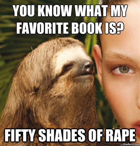 Rape Sloth Meme - image 505231 rape sloth know your meme