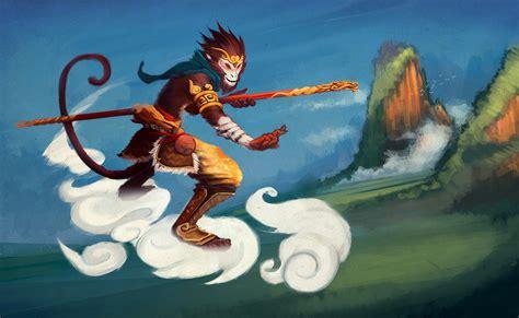 jade emperor anime sun wukong the monkey king by funzee on deviantart