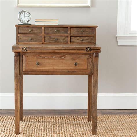 schreibtisch klein safavieh abigail oak desk with drawers amh6520c the home