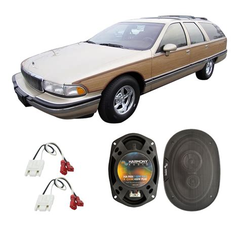 Home Theater Roadmaster fits buick roadmaster 1991 1994 rear deck replacement harmony ha r69 speakers ha spk replace225