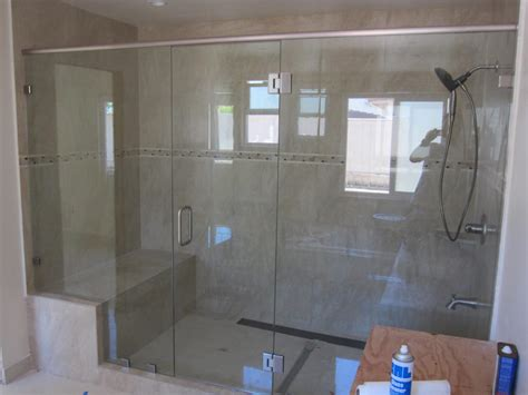 Oversized Shower Large Shower Enclosure Patriot Glass And Mirror San