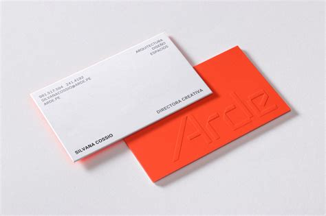 architectural business cards new logo for arde by is creative studio bp o