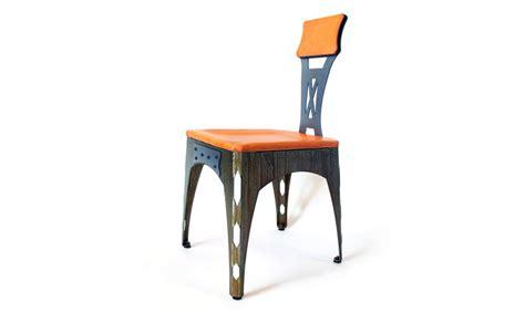 Sheet Metal Chair by Brandner Design The Sheet Metal Chair