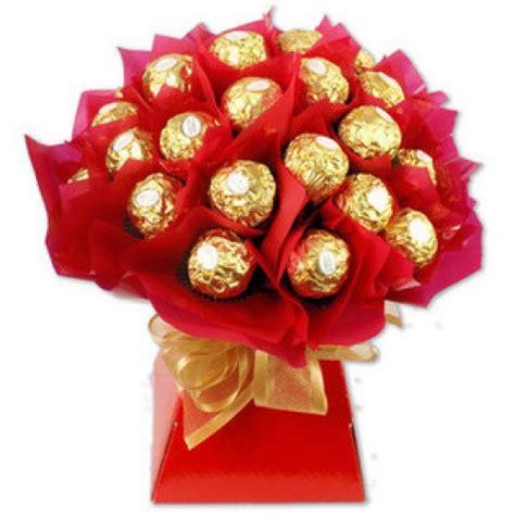 Bouquet Buket Fresh Roses Coklat Ferrero Rocher ferrero rocher bouquet
