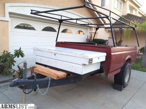 pickup bed trailer for sale armslist for sale pickup bed utility trailer