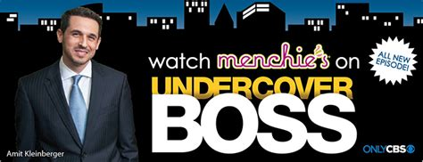 Undercover Boss Biggest Giveaway - free menchie s froyo watch undercover boss for text offer mission to save