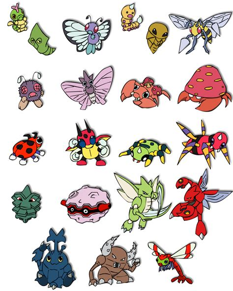 types of bed bugs bug type pokemon images pokemon images