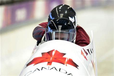 Olympic Bobsled Wardrobe Malfunction by Sochi Olympics Canadian Bobsledder Has Epic Wardrobe