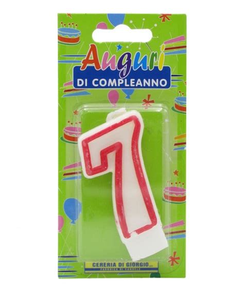 candela di compleanno candela compleanno n 176 7 drogheria olimpia shop