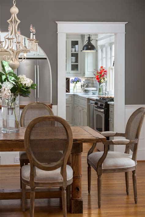 Grey Dining Room Kitchen Photo Page Hgtv