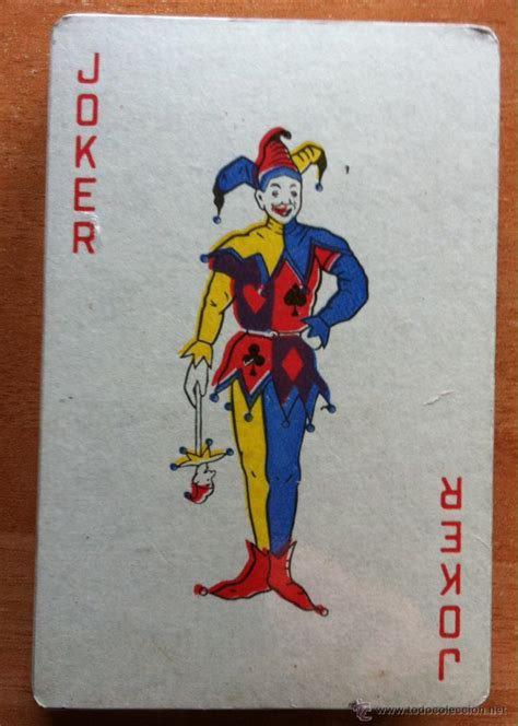 imagenes joker cartas baraja de cartas completa joker con pl 225 stico de comprar