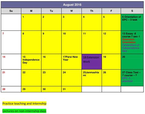 College Academic Calendar Academic Calendar The Lord S Universal College Of Education