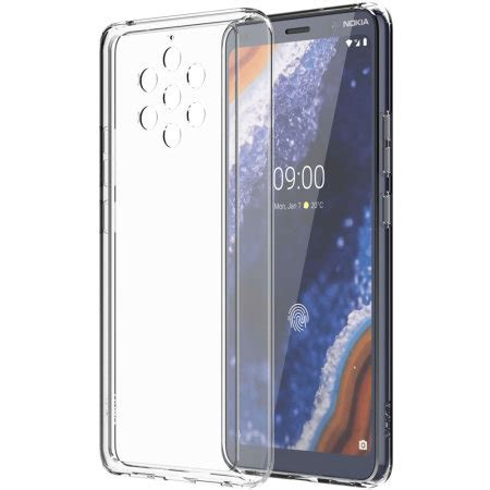 official nokia  pureview premium view case clear
