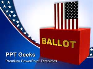 Government Powerpoint Templates by File Name American Ballot Box Government Powerpoint