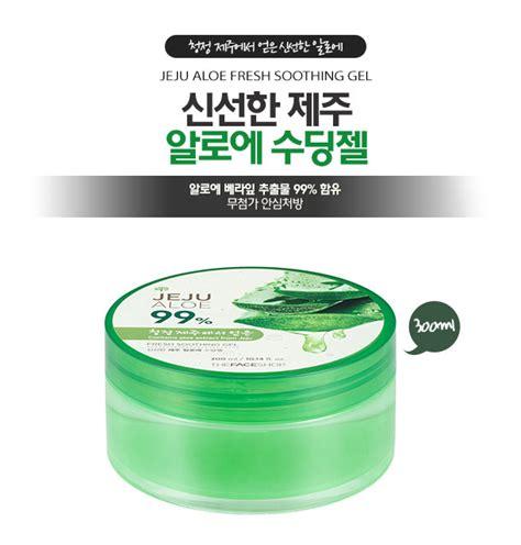 The Shop Jeju Aloe 99 Fresh Soothing Gel 300 Ml the shop jeju aloe fresh soothing gel hermo
