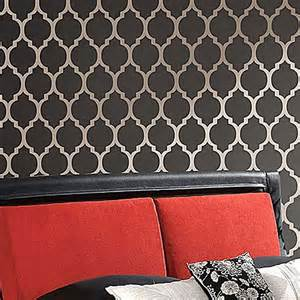 large moroccan stencils for easy wall painting moroccan
