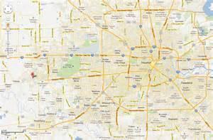 west houston map