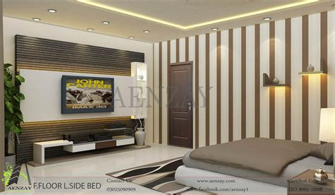 Interior Designing Master Bedroom Interior Design Aenzay Interiors Architecture